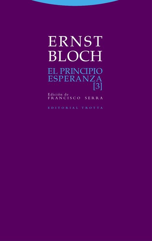 El principio esperanza, Ernest Bloch