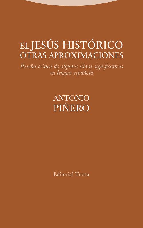 Nuevo libro de Antonio Piñero